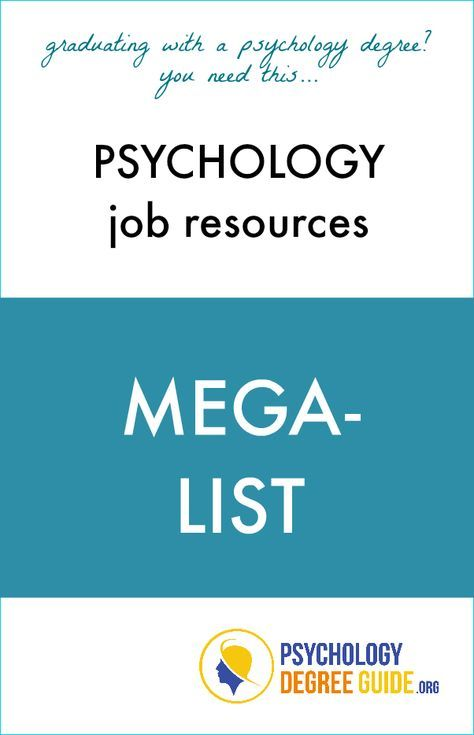 Psychology job resources mega-list