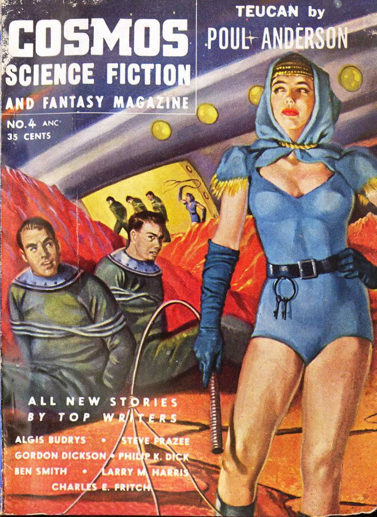 Cosmos Science Fiction and Fantasy Magazine, July 1954
