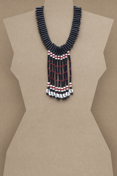 Angela Necklace #necklace #jewellery #jewelry #fashionaccessories #accessories #beadednecklace #ceramicbeads #ethnicstyle #bohostyle