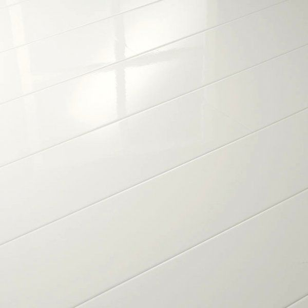 Elesgo Supergloss Extra Sensitive White Laminate Flooring