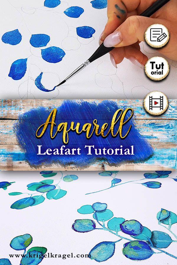 Mit Aquarell Und Tinte Malen Lernen Im Blogpost Zeigt Dir Desiree