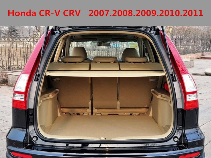 Car Rear Trunk Security Shield Cargo Cover For Honda Cr V Crv 2007 2008 2009 2010 2011 High Qualit Black Beige Auto Honda Cr Honda Crv Accessories Cargo Cover