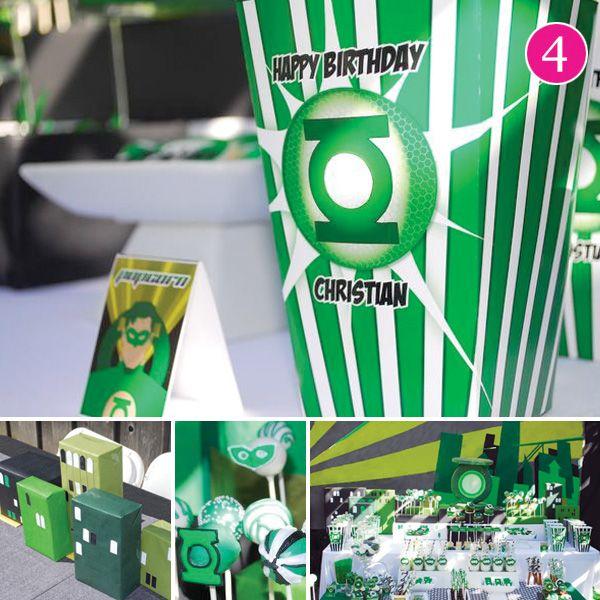 Green Lantern Party!!!