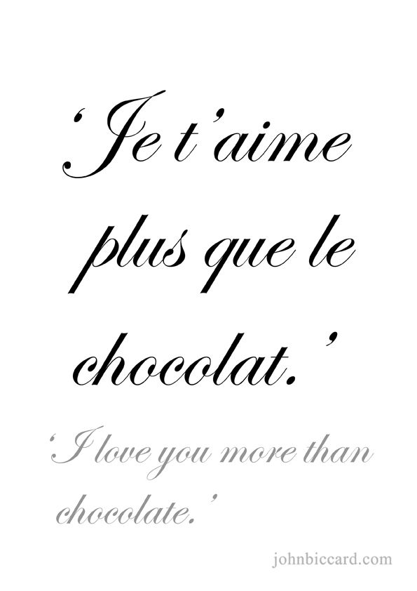 quotes french you Words in i love