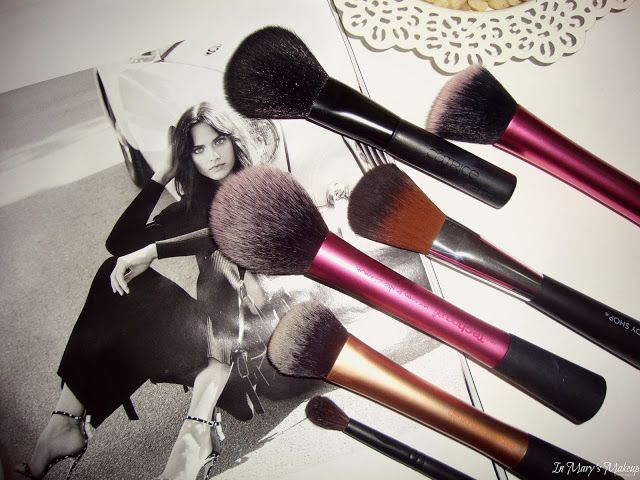 In Mary's Makeup: My favourite makeup brushes   Face