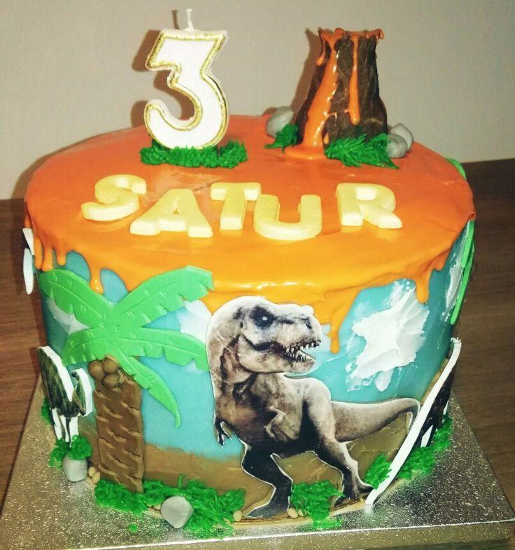 Drip Cake de la Isla de los Dinosaurios!