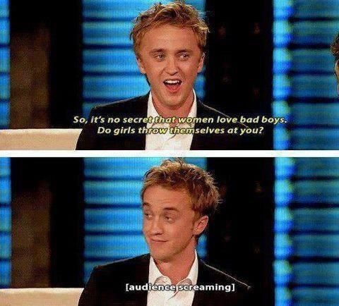 Tom Felton is a sex god