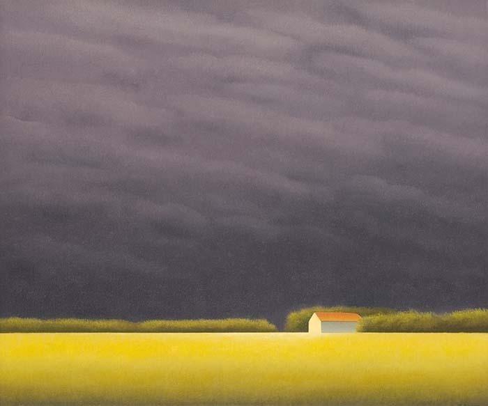 Cielo Con Nubes by Jose Basso, 2012