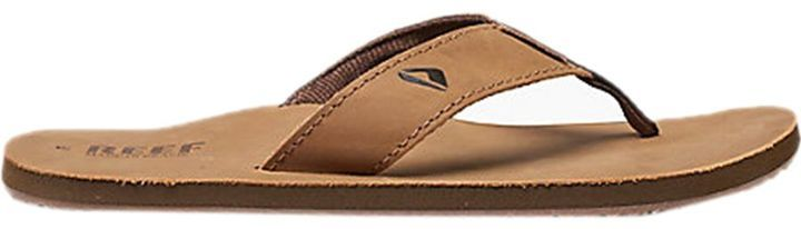 Reef Leather Smoothy Flip Flop