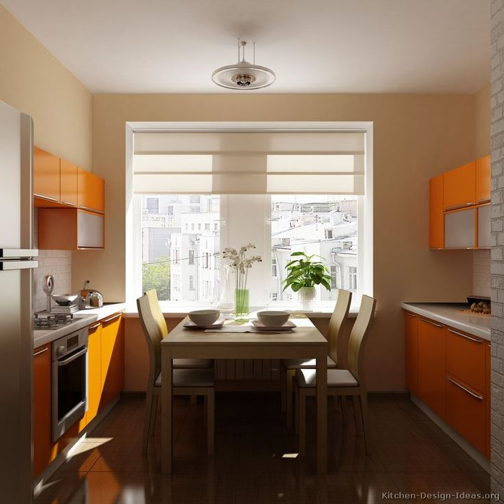Browse Through Pictures Of Modern Orange Kitchens In This Complete Gallery Contemporary Kitchen Designs Featuring Various Hues Cabinets