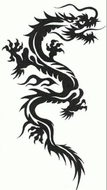 1ebcebe80 Pin by Roger Jacobs on Legging s | Tribal dragon tattoos, Dragon tattoo  designs, Dragon tattoo art