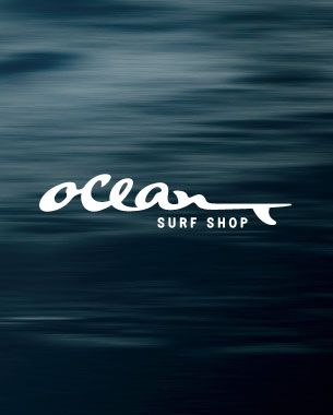 """Ocean Surf Shop"" Logo"