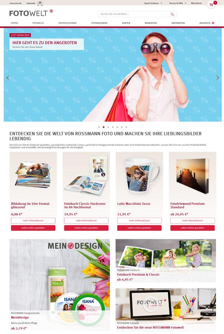 Günstig Fotos entwickeln lassen ✓ Bilder, Fotobücher, Fotogeschenke uvm. ✓ in Top Druckqualität ✓ ROSSMANN Fotowelt => Jetzt bestellen!