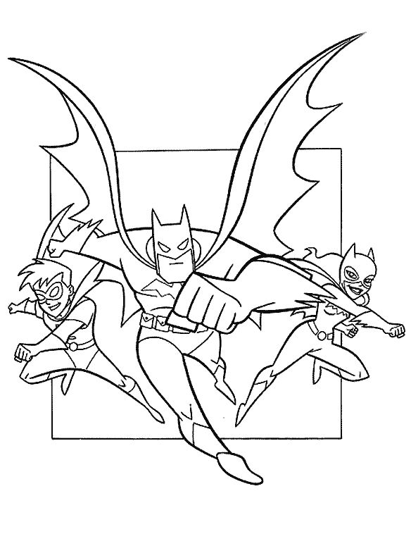 18 Best Batman Coloring Pages Images On Pinterest Batman - batman cartoon coloring pages