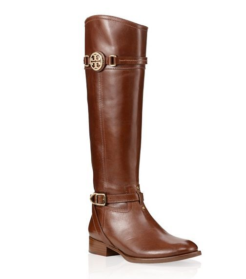 Calista Flat Riding Boot   Womens Boots & Booties   ToryBurch.comToryburch Com