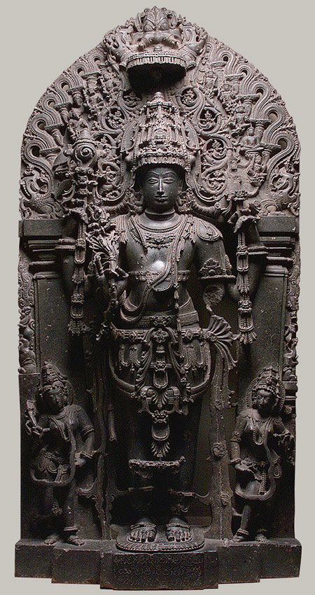 Standing Vishnu as Keshava [Karnataka (probably Belur), India] (18.41)   Heilbrunn Timeline of Art History   The Metropolitan Museum of Art
