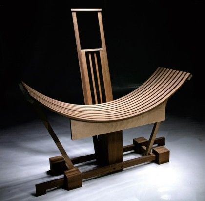 Chair - Sculpture Limited production 01 of 09 design Riccardo Dalisi realization Mazzocca  Wood Design Lab