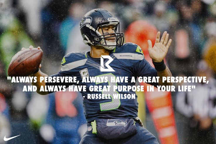 russell wilson quotes | Created a visual identity for NFL Quarterback Russell Wilson.
