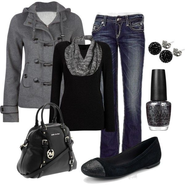 LOVE this casual outfit!! Annnnnnd it's paired with a ...