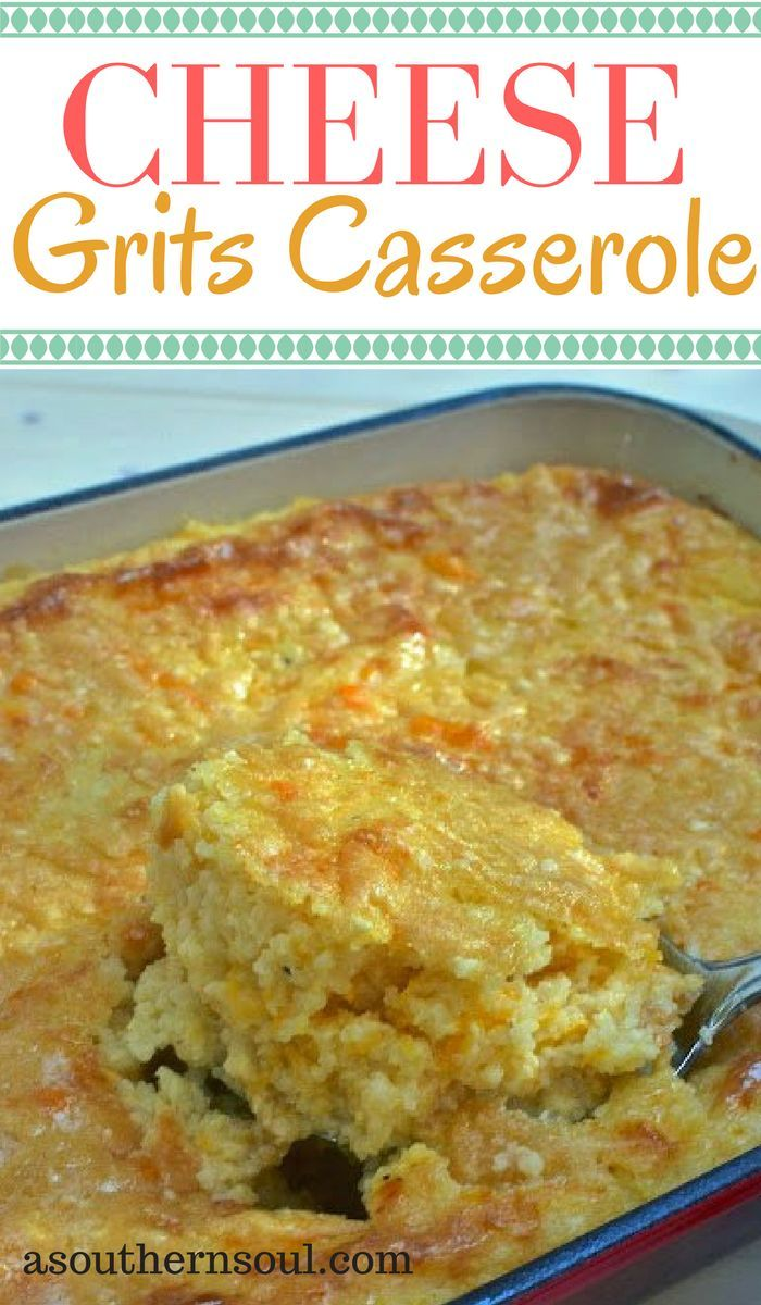 Cheesy, creamy grits casserole are a great side dish for breakfasts, lunch, brunch or dinner. A make ahead dish that is a family favorite.