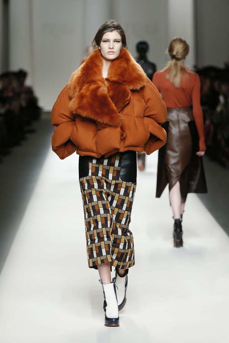 Fendi Fall/Winter 2015 Fashion Show - Look 21