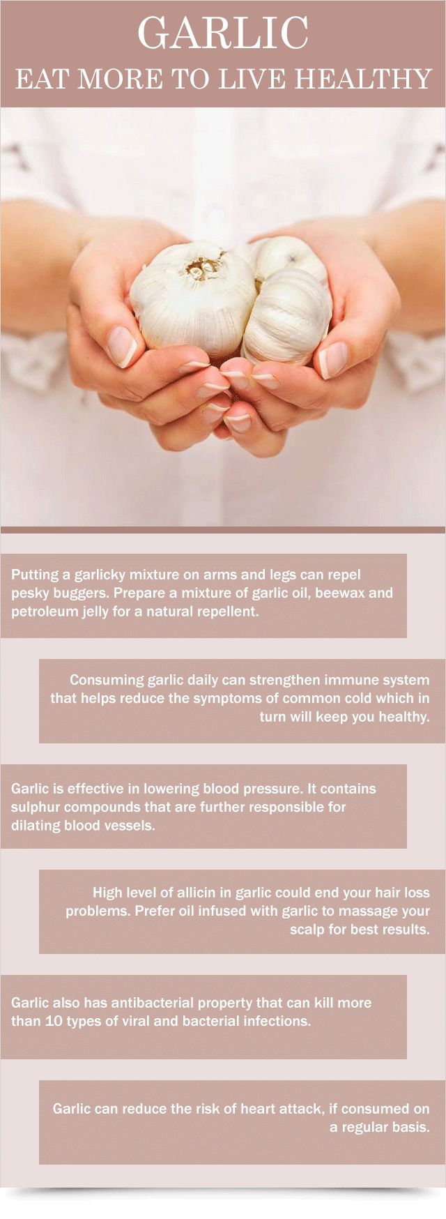 Garlic Eat More To Live Healthy : Health Products For You