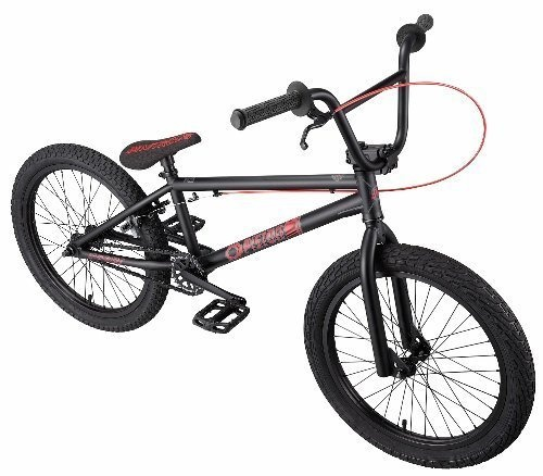 Eastern Bikes Piston BMX Bike (Matte Black, 20-Inch) by Eastern Bikes @ BicycleBMX.com