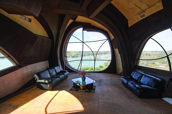 organische architektur robert bruno steel haus texas Architektur - architekt wohnzimmer