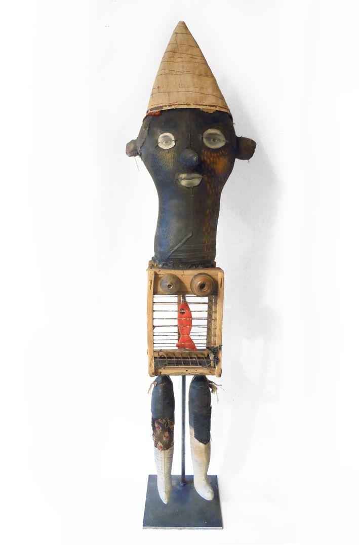 les poupées encaustiques | Cecile PERRA plasticienne: cecile.perra@wanadoo.fr
