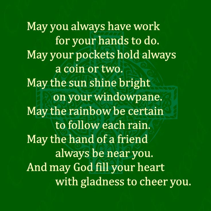 The 8 best Blessings images on Pinterest | Irish proverbs, Blessings ...