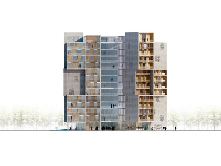 Gallery Of University Southern Denmark Student Housing Winning Proposal CF Moller Architects