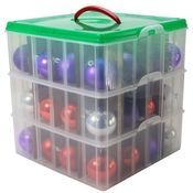 www.spacesavers.com Snap N' Stack Ornament Storage Box