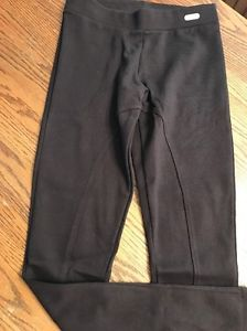 Pulla Bulla Girls Size 12-14 Dark Brown Riding Pants Elastic Waist NWT  | eBay