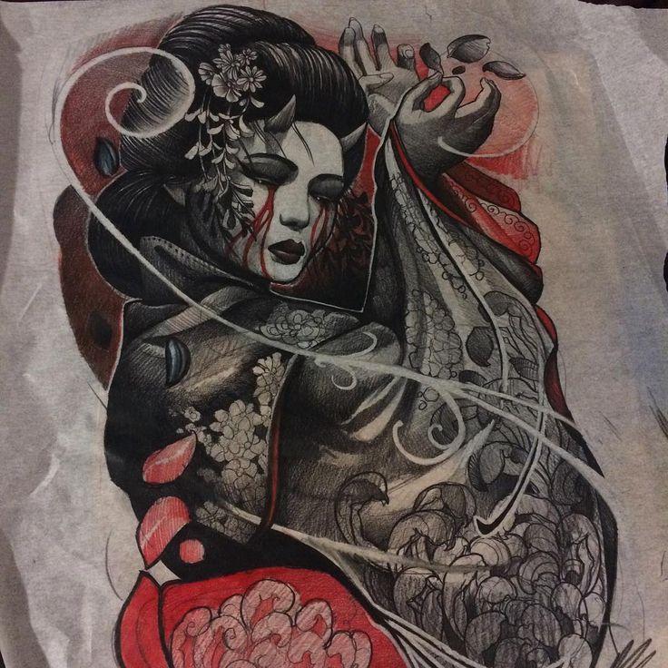 Black dahlia geisha girl leo lion plastic surgeon