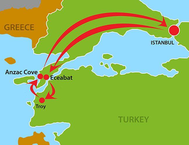 GoSailTurkey - 6 day tour, £359 GBP. First choice.