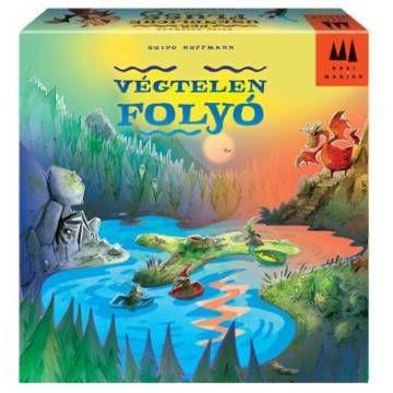 Végtelen folyó - Der undenliche Fluss - képességfejlesztő társasjáték 6 éves kortól - Drei Magier Spiele
