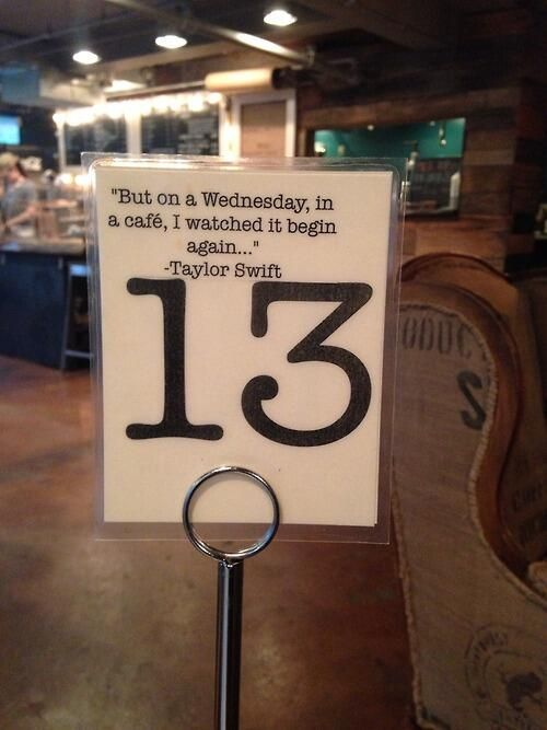 This was found at a coffee shop in Nashville. I like whoever did this!