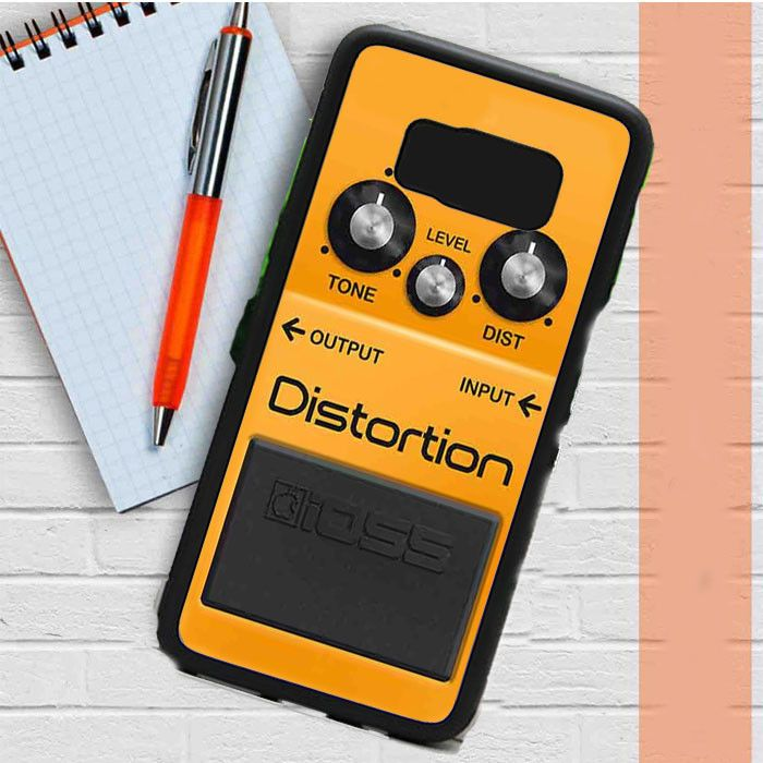 Boss Distortion Pedal Samsung Galaxy S8 Case Dewantary