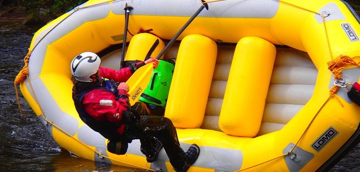 IRF Raft Guide Training North Wales
