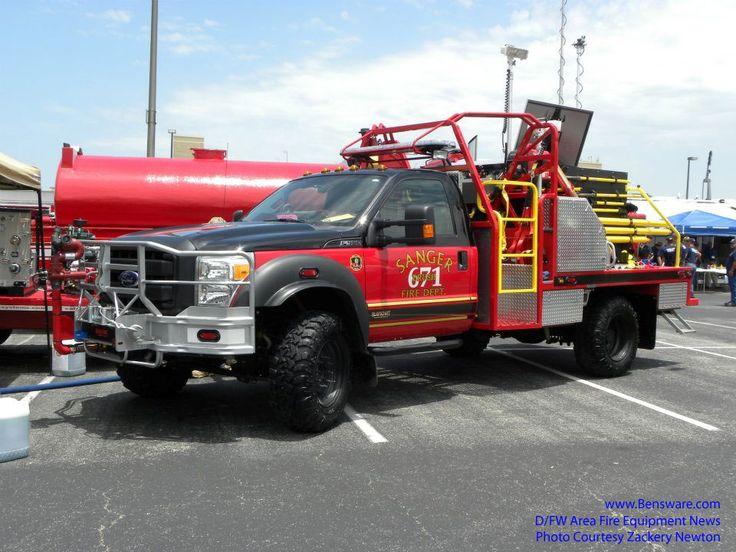 brush trucks | 2012-07-25 Sanger Has a new brush truck running as Brush 671. Thanks ...