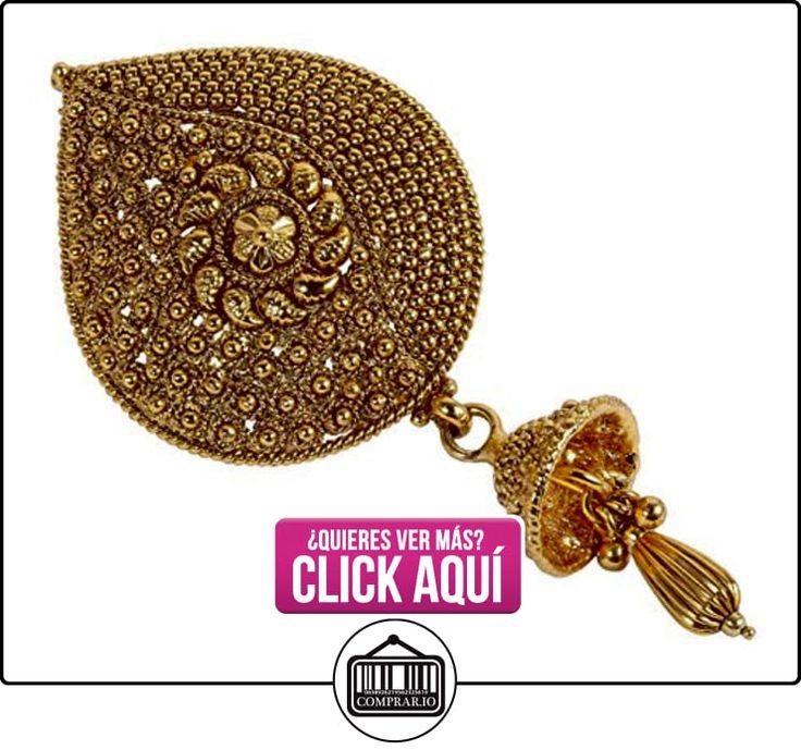 Étnico Gorgeous chapado en oro de la India pelo pin pinza para pelo cabello joyería para mujer  ✿ Joyas para niñas - Regalos ✿ ▬► Ver oferta: https://comprar.io/goto/B017NJWHJM