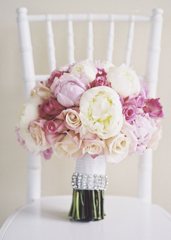 .Pink Wedding, Wedding Bouquets, Country Wedding, Bridal Flower, White Bouquets, Pink Bouquet, Southern Wedding, Pink Peonies, Brides Bouquets