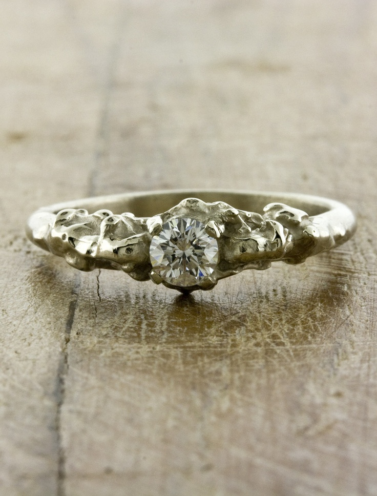 8 best Offbeat engagement rings images on Pinterest Promise rings