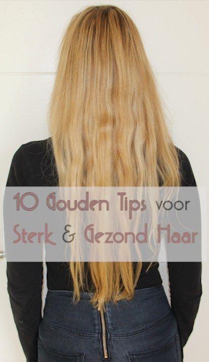 10 gouden tips voor glanzend, sterk en gezond lang haar | #thebeautyletters #haar #verzorging