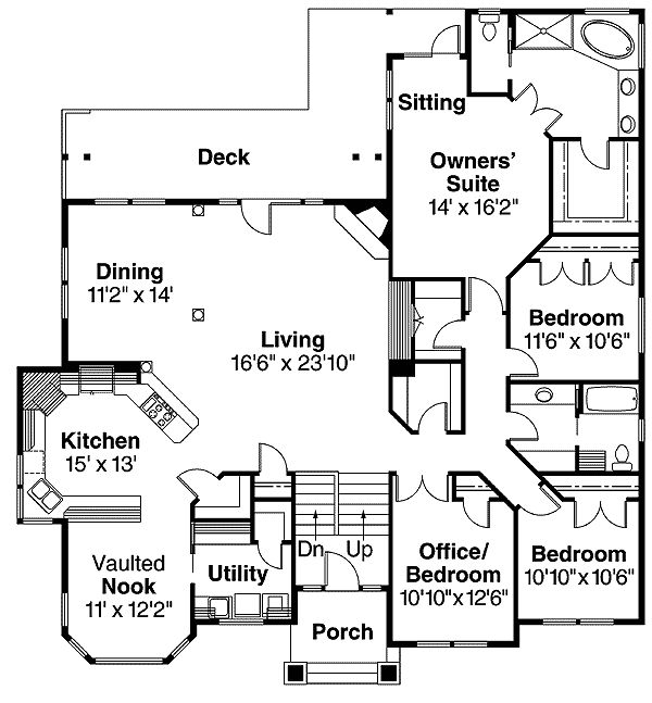 Plan 72566DA: Beautiful Split-level Home Plan | Raised Ranch Ideas on master designs, master builders, master blueprint, master painting, master furniture,