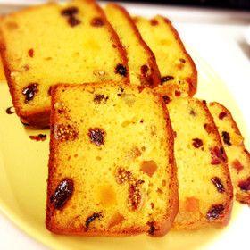 低糖質 大豆粉ふんわりパウンドケーキ