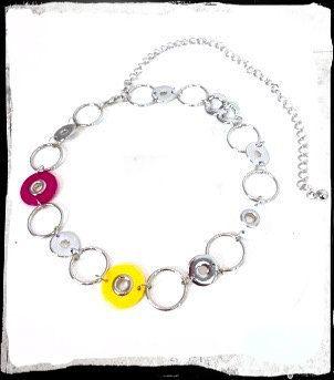 80's Retro Belt - Chain Belt / Necklace - Bright colours - Silver Available on Etsy! Shop here 👉 https://www.etsy.com/listing/277421644/80s-retro-belt-chain-belt-necklace?utm_campaign=crowdfire&utm_content=crowdfire&utm_medium=social&utm_source=pinterest