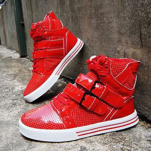 Winter fashion the trend of fashion male high-top shoes lovers shoes hip-hop