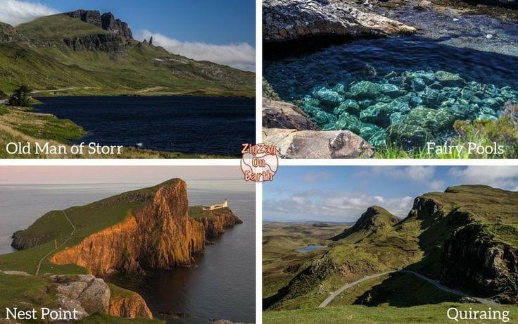 3 day Isle of Skye Tour from Edinburgh or Glasgow Scotland