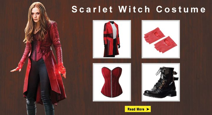 Costume Scarlet Diy War Witch Civil